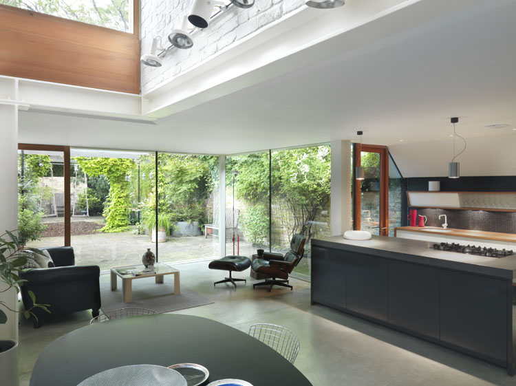 Bespoke contemporary furniture london handmade furniture for Garden room kitchen